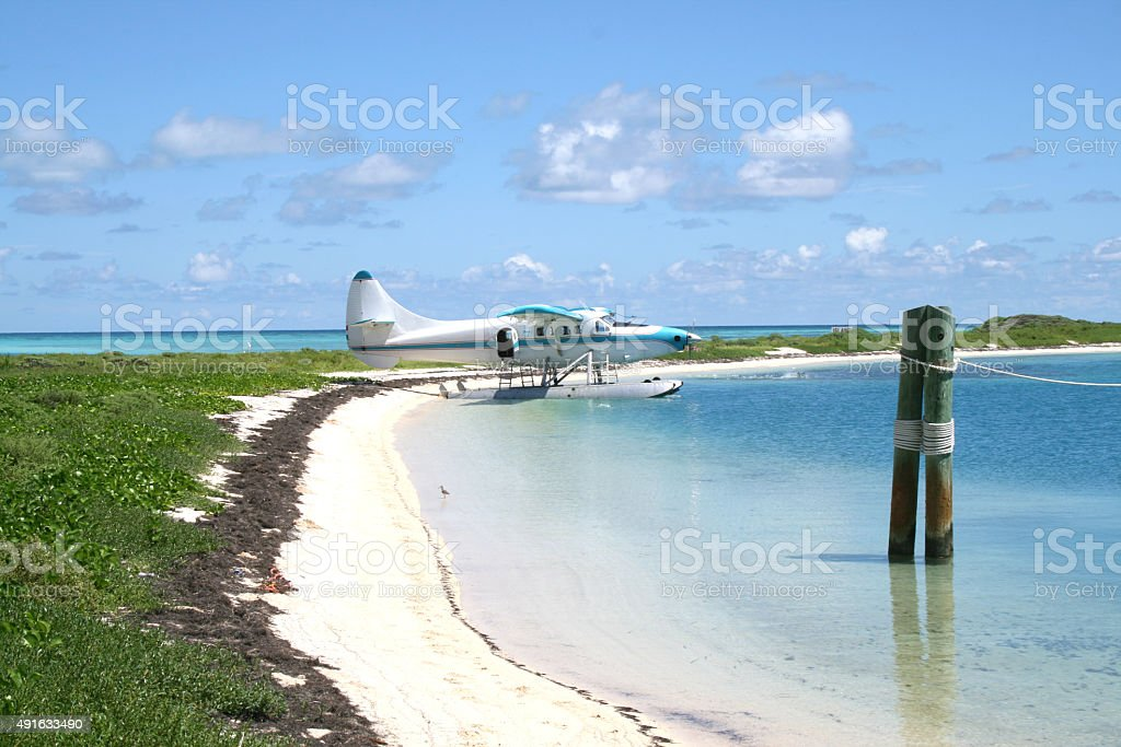 Ocean view in the Dry Tortugas National Park stock photo