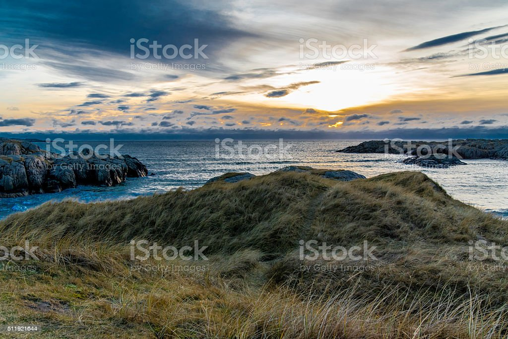 Ocean view. stock photo