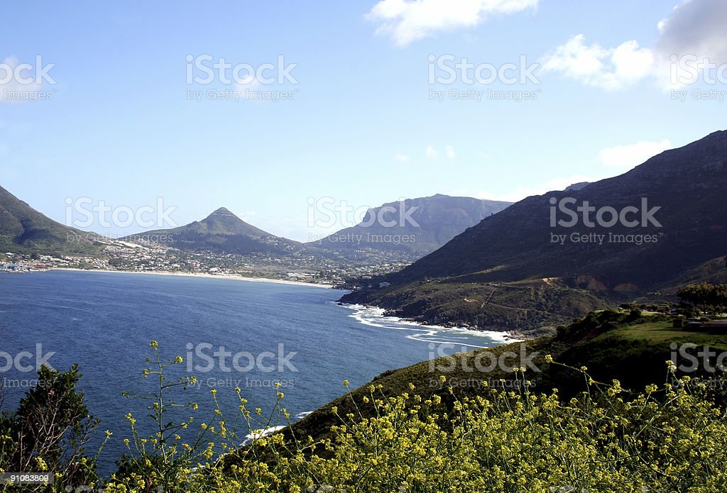 Ocean View - South Africa royalty-free stock photo