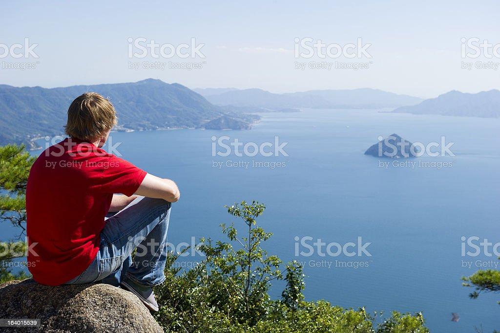 Ocean Views stock photo