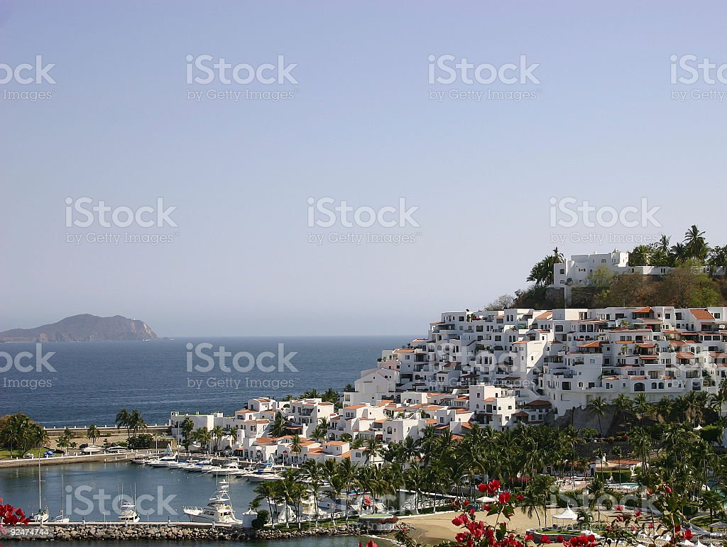 Ocean Villas royalty-free stock photo