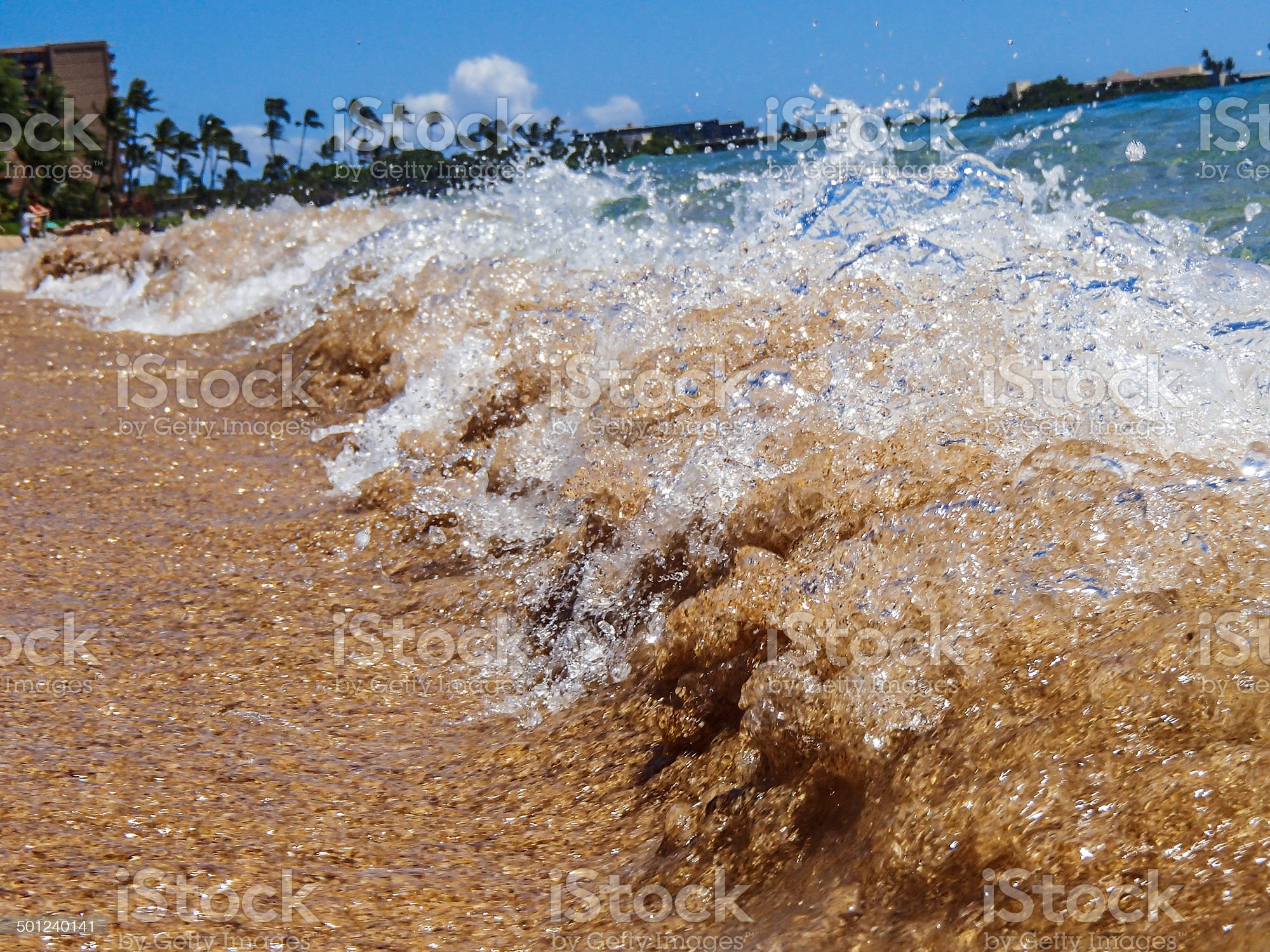 Ocean Wave Close  Up royalty-free stock photo