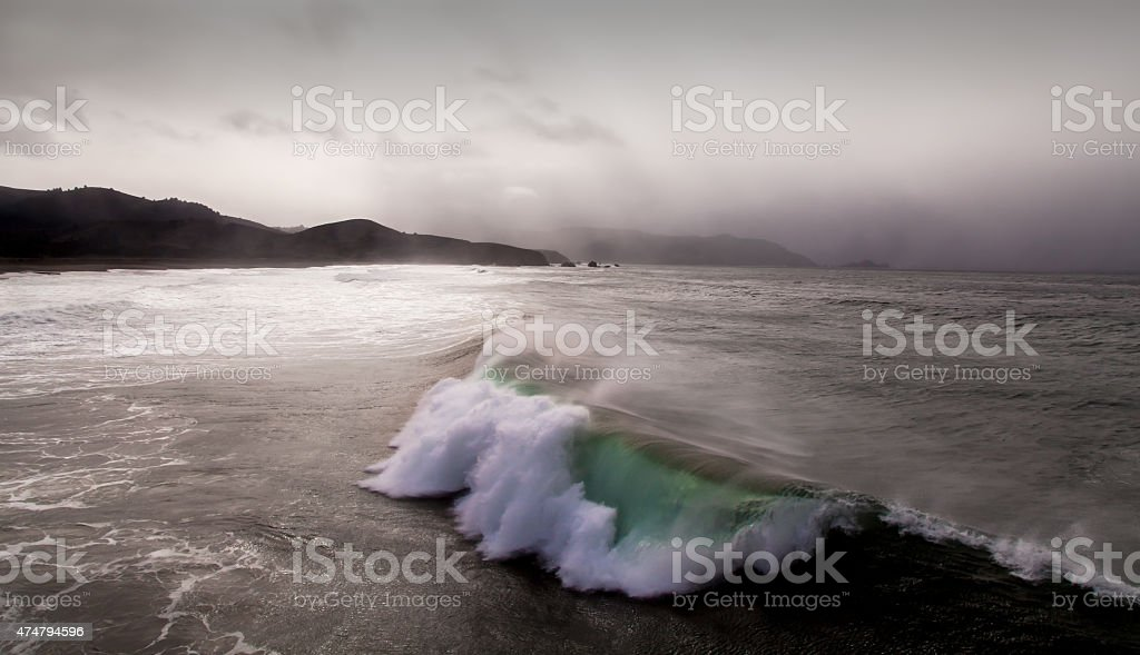 Ocean Wave stock photo