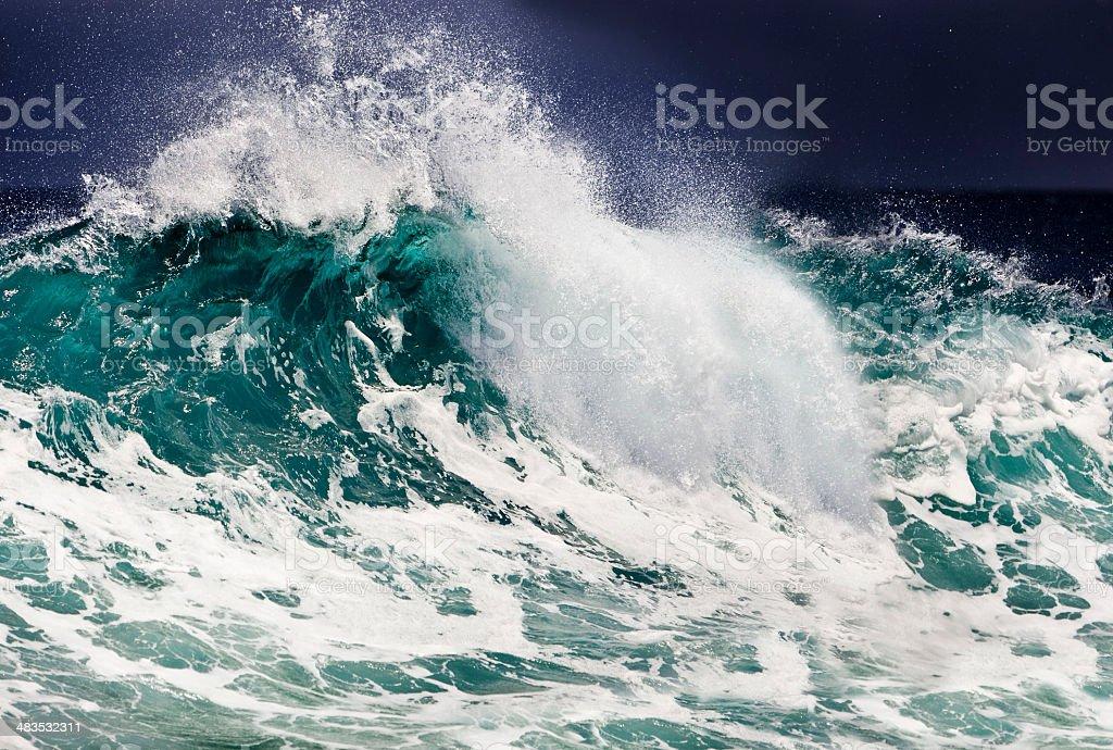 Ocean wave royalty-free stock photo