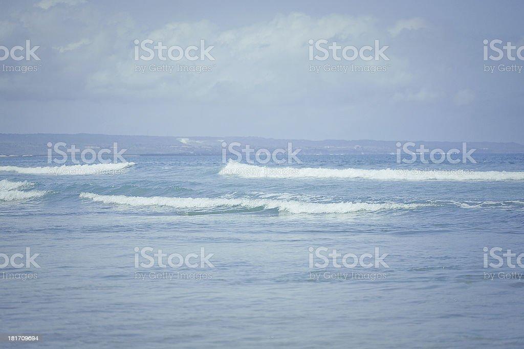 Ocean waves. Indian ocean. royalty-free stock photo