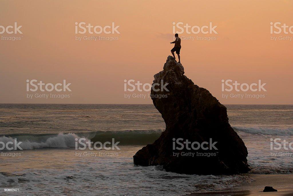 ocean witness royalty-free stock photo