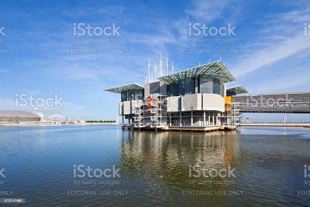 Oceanarium at the Nations Park World Expo, Portugal stock photo