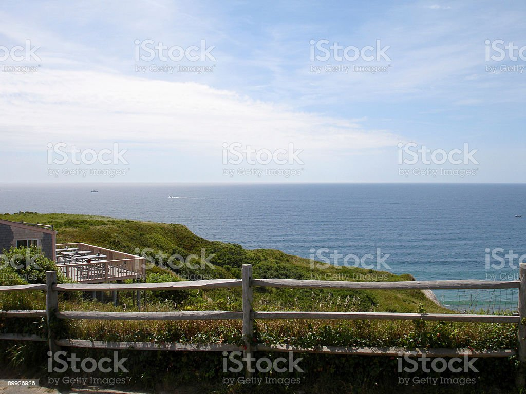 Oceanfront Property royalty-free stock photo