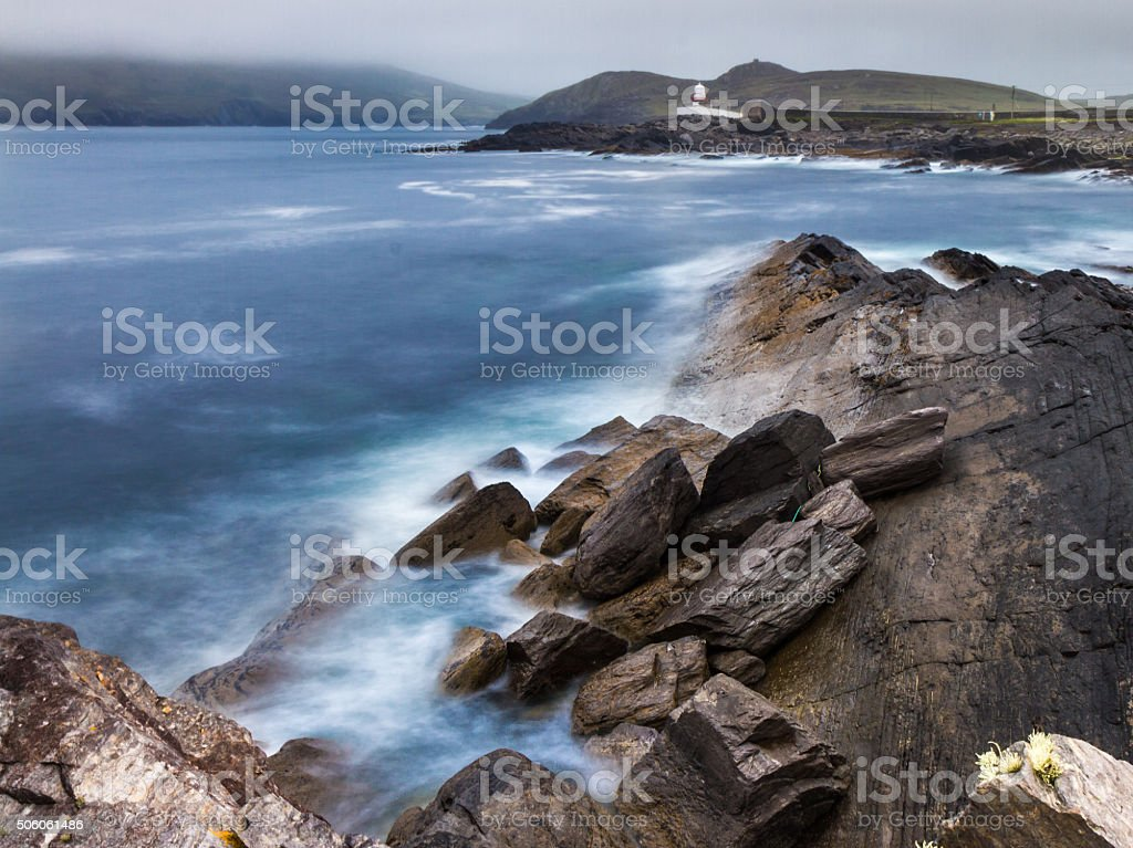 Oceanic Lighthouse stock photo