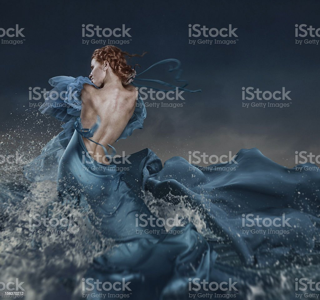 oceans emotions stock photo