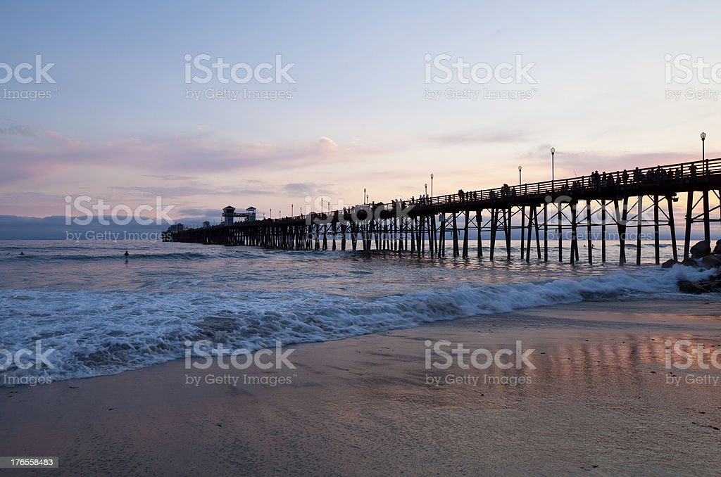 Oceanside Pier royalty-free stock photo