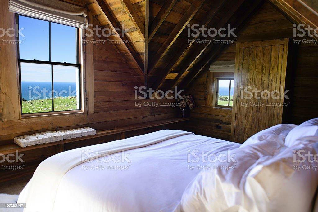 Oceanside Room stock photo
