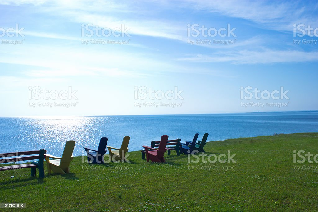 Oceanside View stock photo