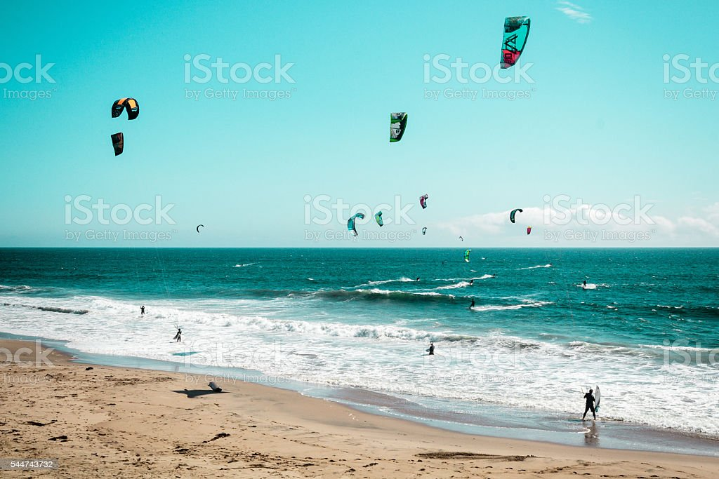Oceanview from California Coast, United States stock photo