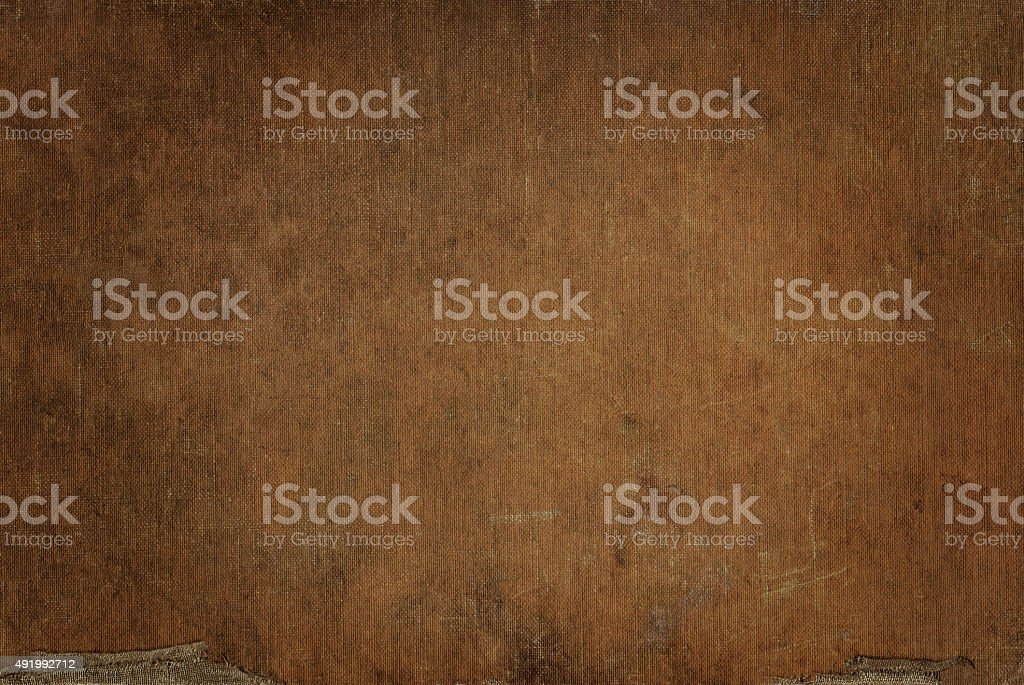 Ocher canvas grunge background texture stock photo