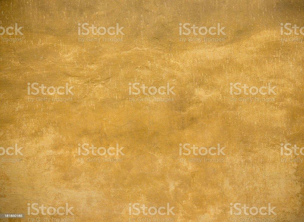 Ocher wall texture background, Pisa Tuscany Italy stock photo