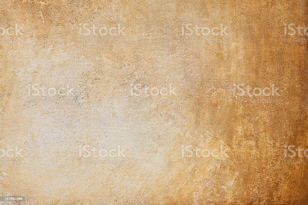 Ocher yellow Roman wall texture, Rome Italy royalty-free stock photo