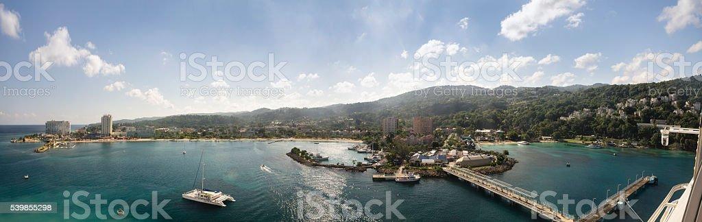 Ocho Rios Bay stock photo