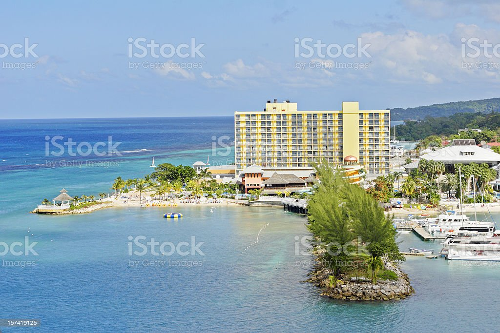 Ocho Rios, Jamaica royalty-free stock photo
