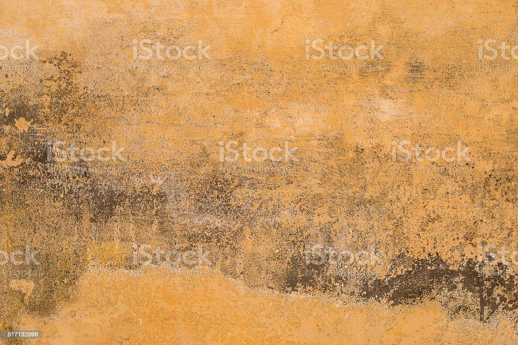 Ochre aged texture stock photo