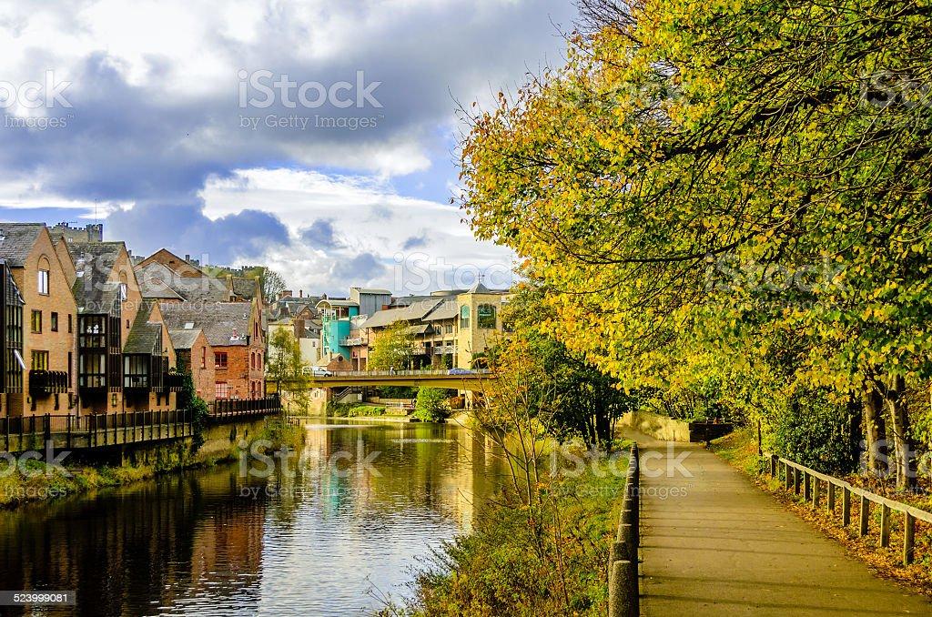 October in Durham stock photo