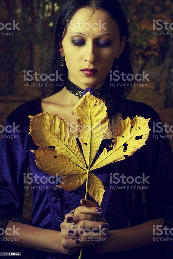 October mood royalty-free stock photo