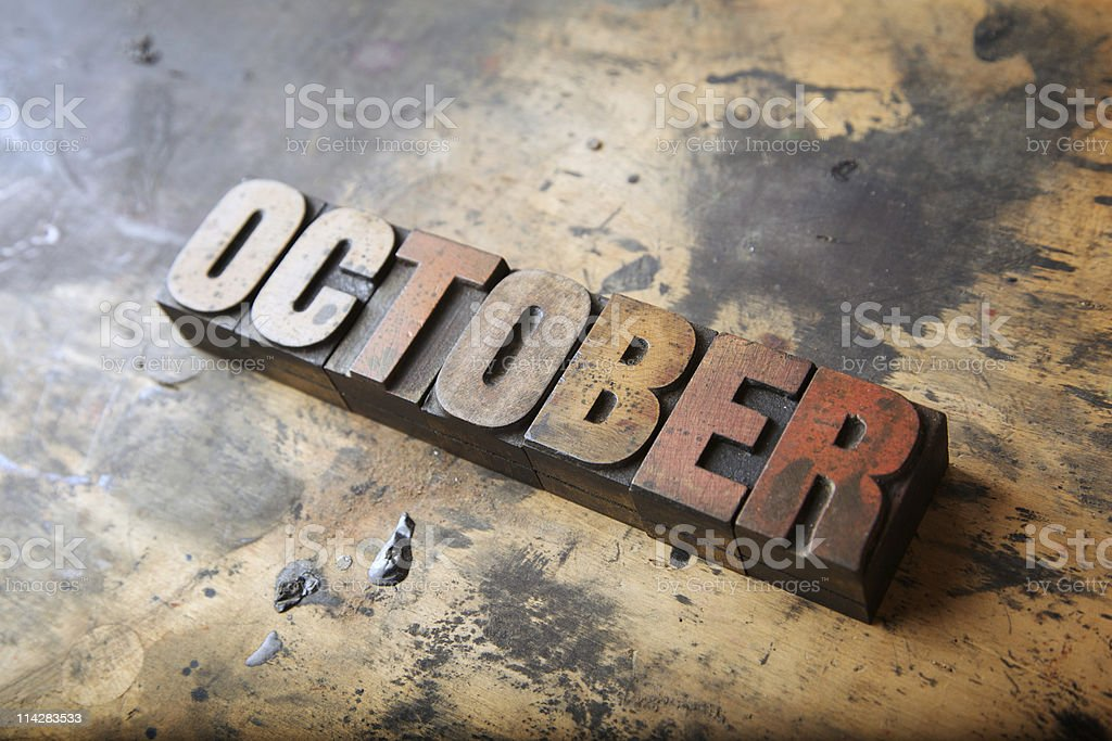 October... royalty-free stock photo