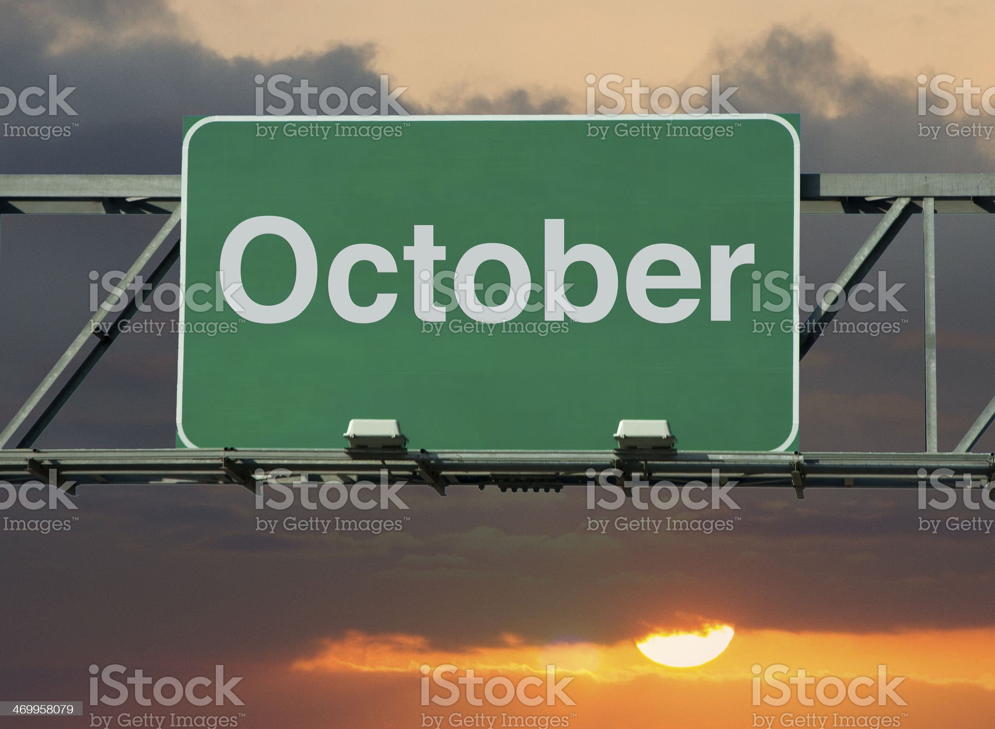 October royalty-free stock photo