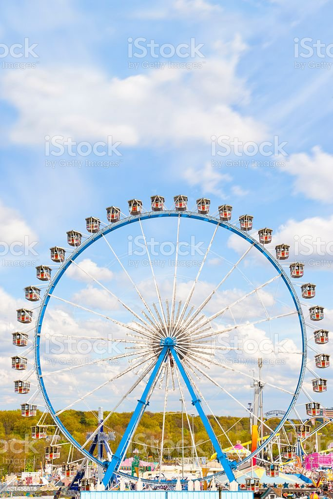 Octoberfest Ferris Wheel stock photo