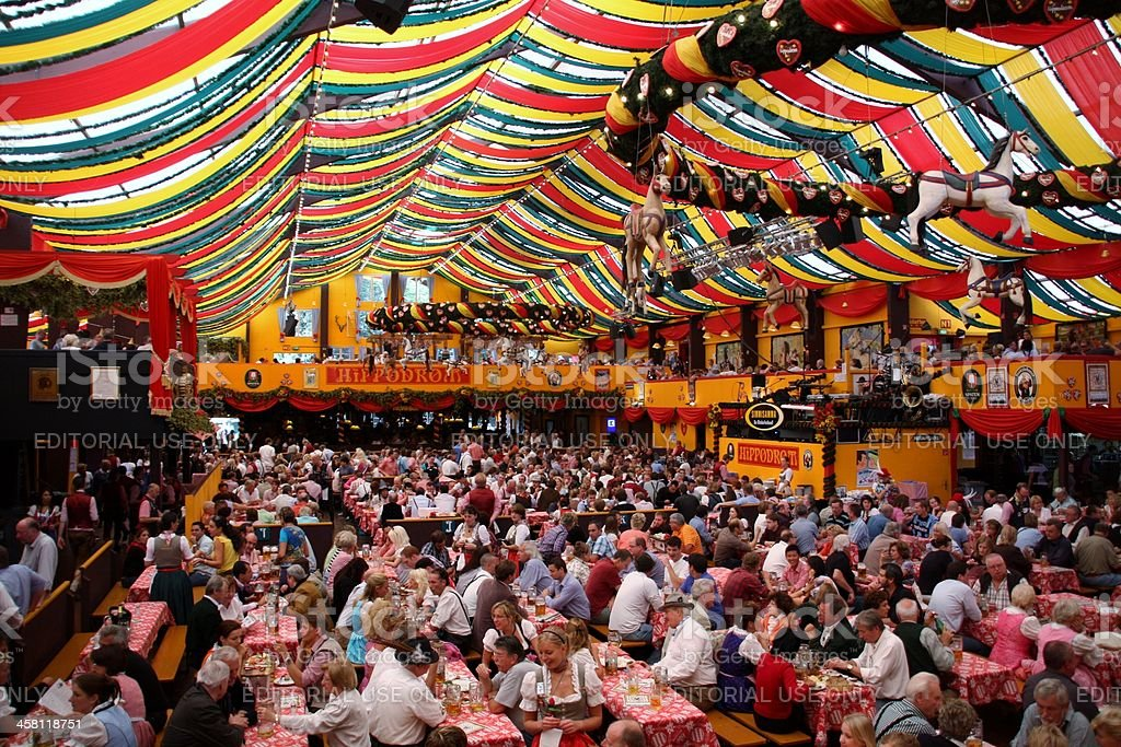 Octoberfest in Munich stock photo