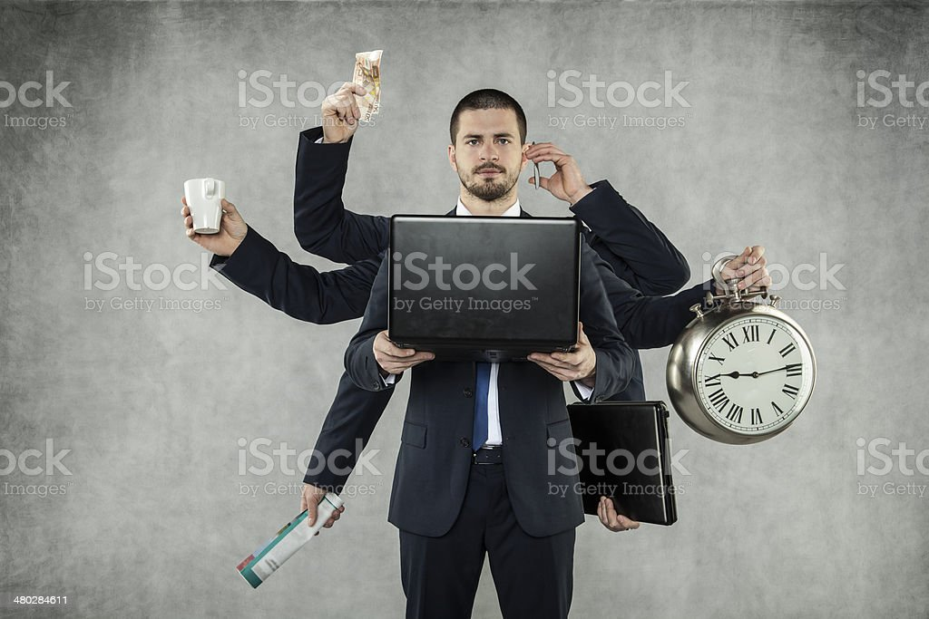 Octopus in Business stock photo
