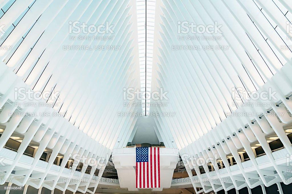 Oculus New York City WTC Transportation Hub stock photo