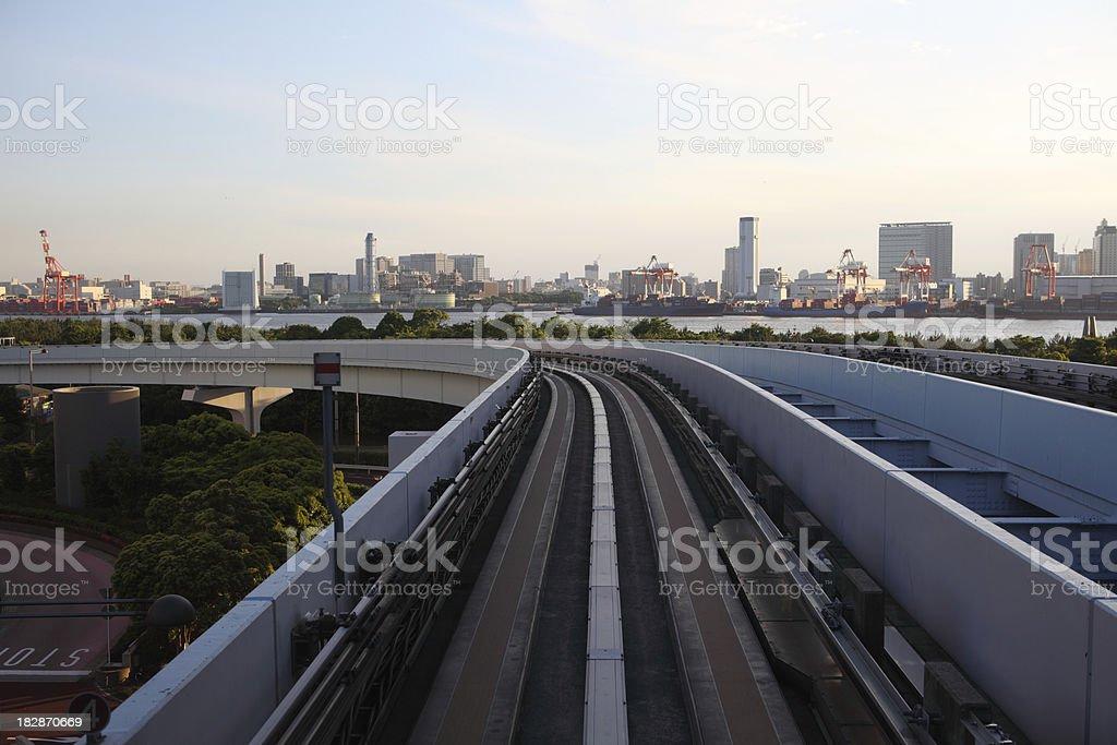 Odaiba, Tokyo stock photo
