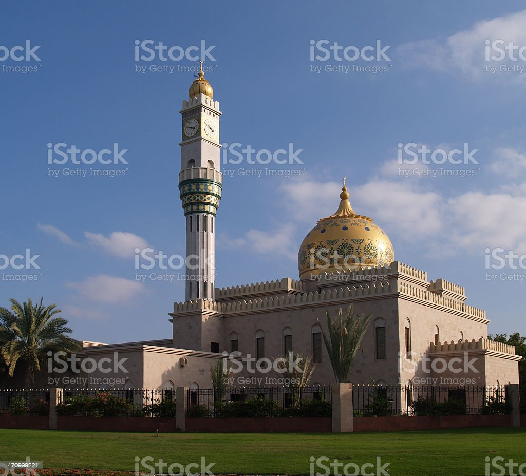 odd mosque royalty-free stock photo