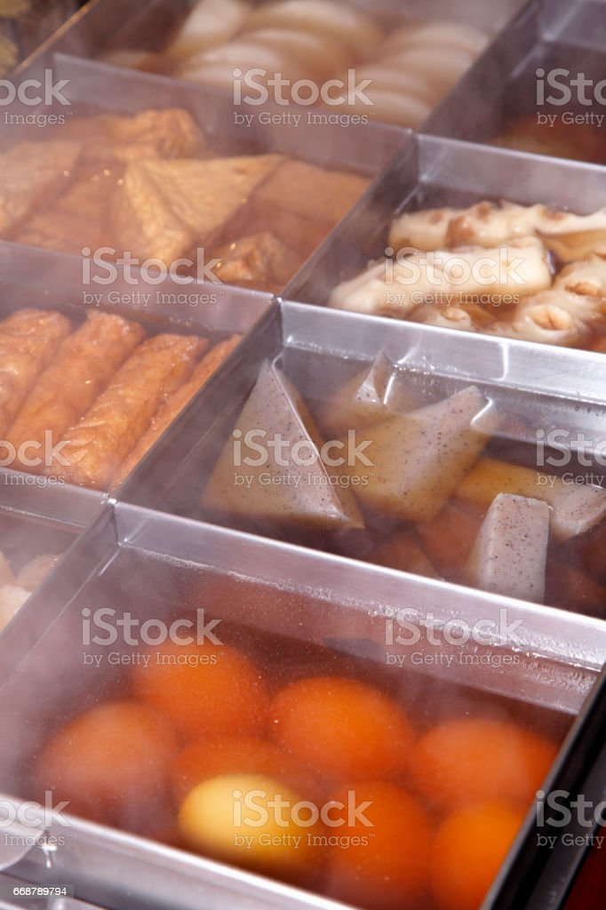 Oden stock photo