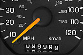 Odometer with 99999 miles