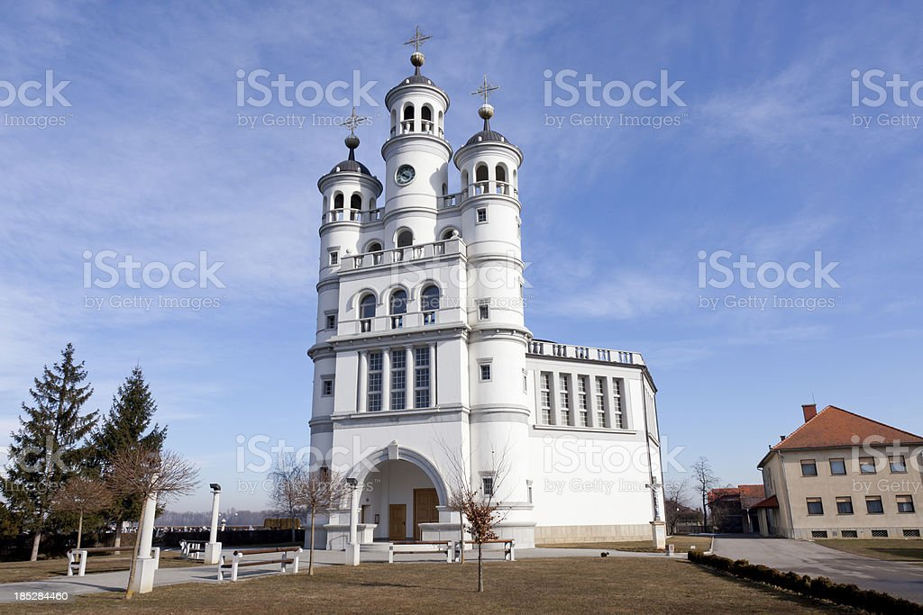 Odranci, Church of Indestructible Hope. royalty-free stock photo