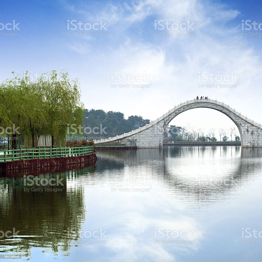 Of classical Chinese architecture stock photo