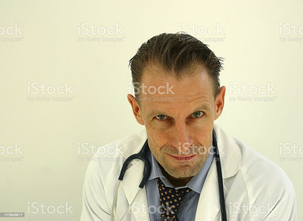 of course i'm a doctor stock photo