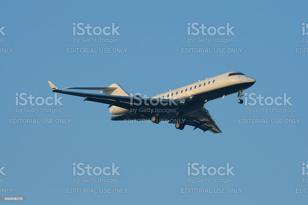 BOMBARDIER INC BD-700-1A10 of LOWCOUNTRY TRADING II LLC stock photo