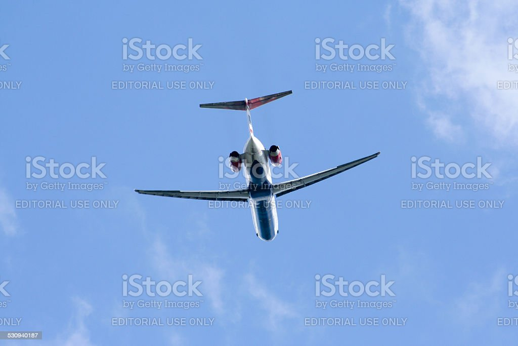 HS-OME MD-82 of One two go airline stock photo