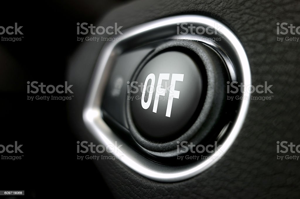 Off button stock photo