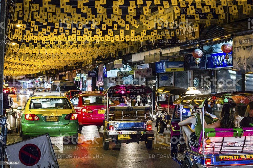 Off Khaosan Road stock photo
