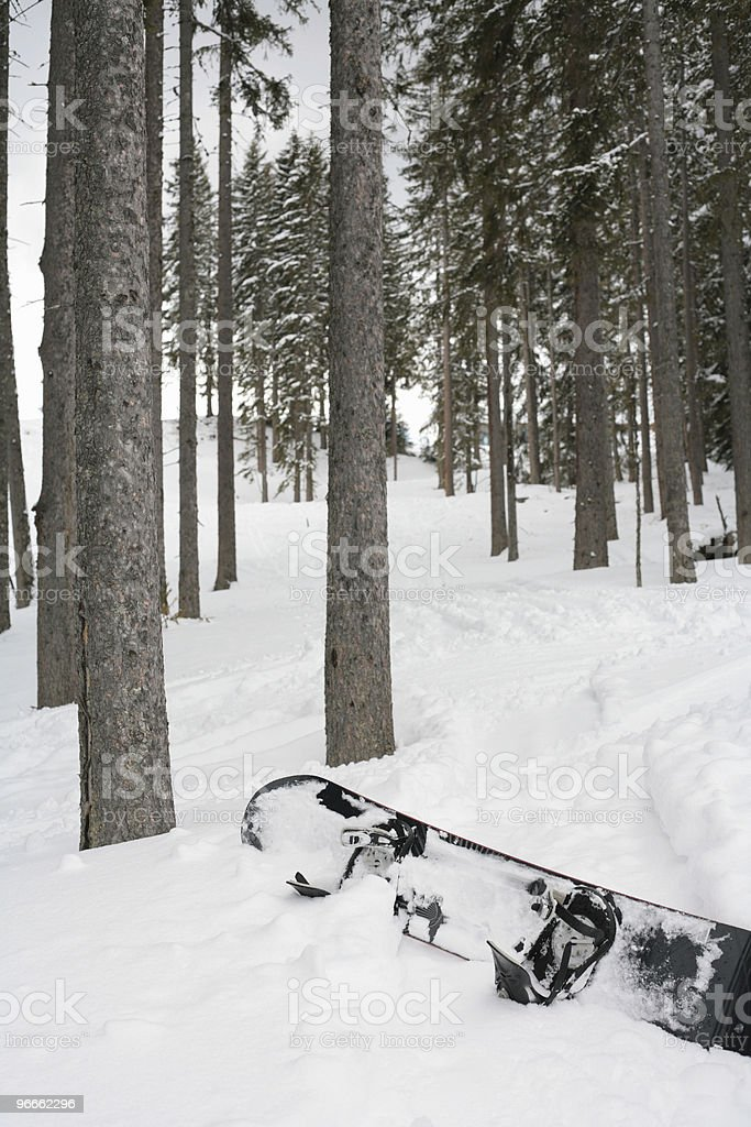 Off Piste royalty-free stock photo