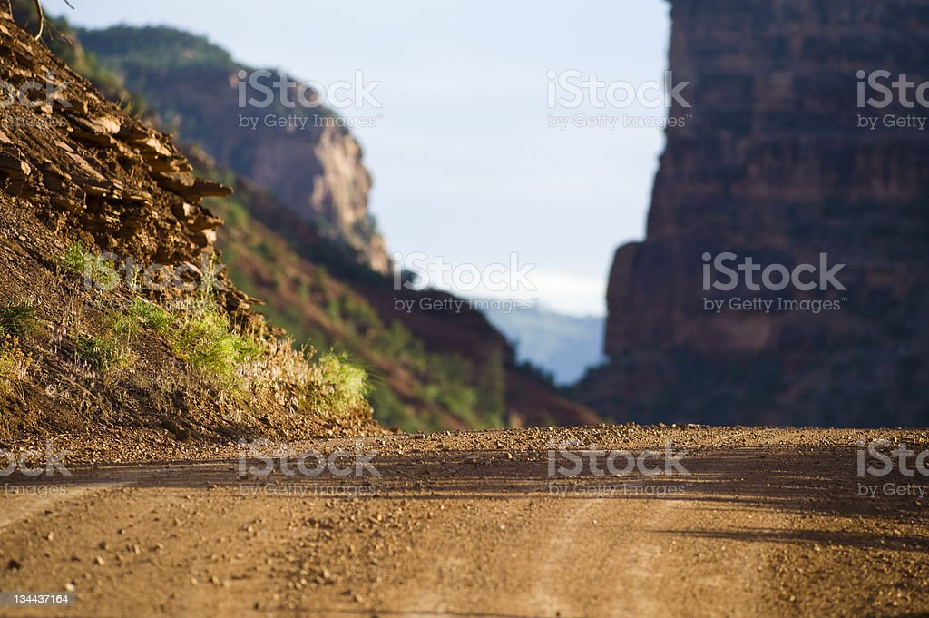 Off Road 4x4 Area Desert Southwest Scenic Landscape royalty-free stock photo