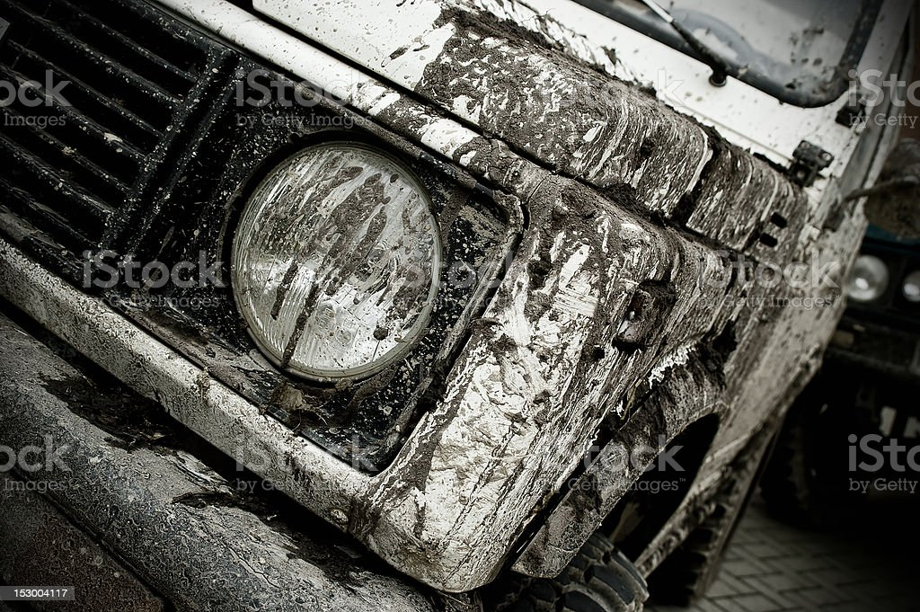 Off road car royalty-free stock photo