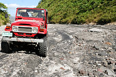 off road driving mt pinatubo philippines