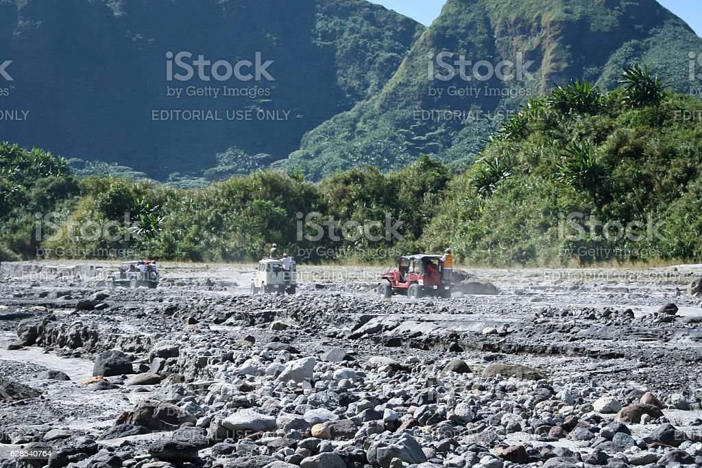 off road driving mt pinatubo philippines royalty-free stock photo