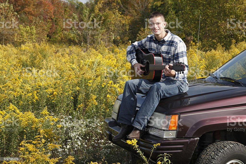 Off Road Guitar. royalty-free stock photo