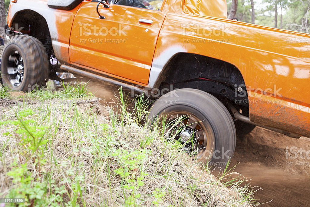 1975 off- road vehicle. stock photo